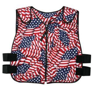 N/A USA Flag Phase Change Cooling Vest