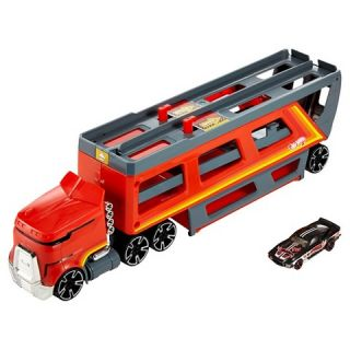 Hot Wheels Retro Car Go Race Hauler Vehicle