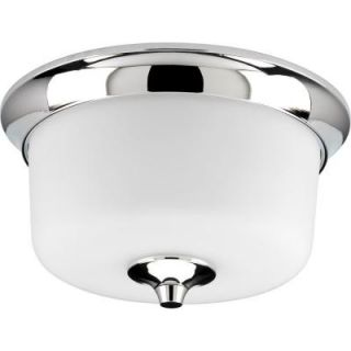 Progress Lighting Lynzie Collection Chrome 2 light Flushmount DISCONTINUED P3863 15