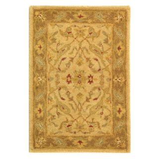 Safavieh Antiquities AT311C Area Rug   Ivory/Brown   Area Rugs