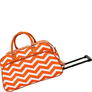 World Traveler Chevron 21 Rolling Duffel Bag