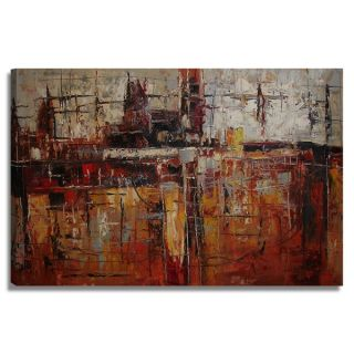 Modern Abstract 24x36 Abstract Modern Original Oil Painting Canvas