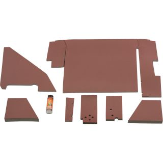 K & M Pre-Cut Cab Foam Kit — For International Harvester Tractors, Model# 4133  Tractor Cab Foam Interiors