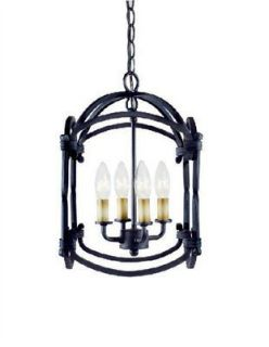 World Imports WI6140642 Rust Pendant Light