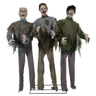 Halloween Zombie Horde Animated Decor