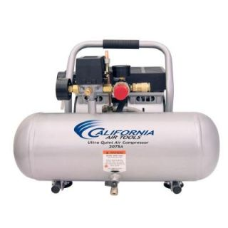 California Air Tools 2.0 Gal. 3/4 HP Ultra Quiet and Oil Free Aluminum Tank Air Compressor 2075A