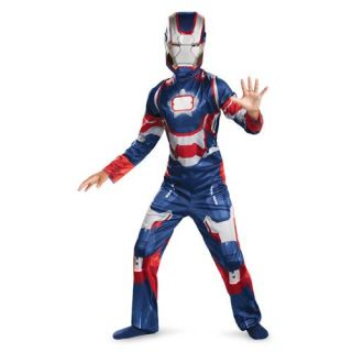 Boys Iron Man Patriot Classic Avengers Costume size XS 3T 4T