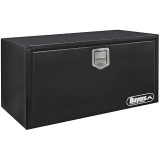 BUYERS PRODUCTS Steel Underbody Truck Box, Black, Single, 6.7 cu. ft.   6RHL0|1702105